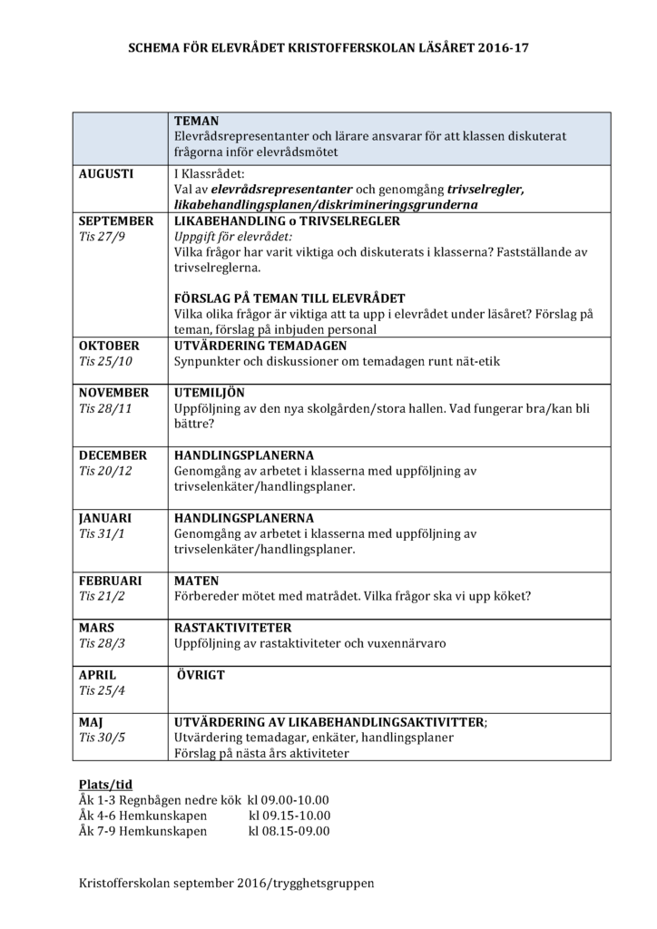 Schemaelevrådet2016-17